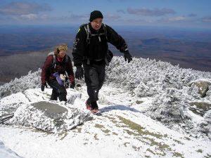 Winter hike on Mt Garfield.
