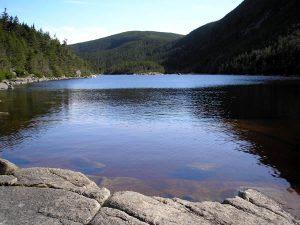 The beautiful Kinsman Pond.