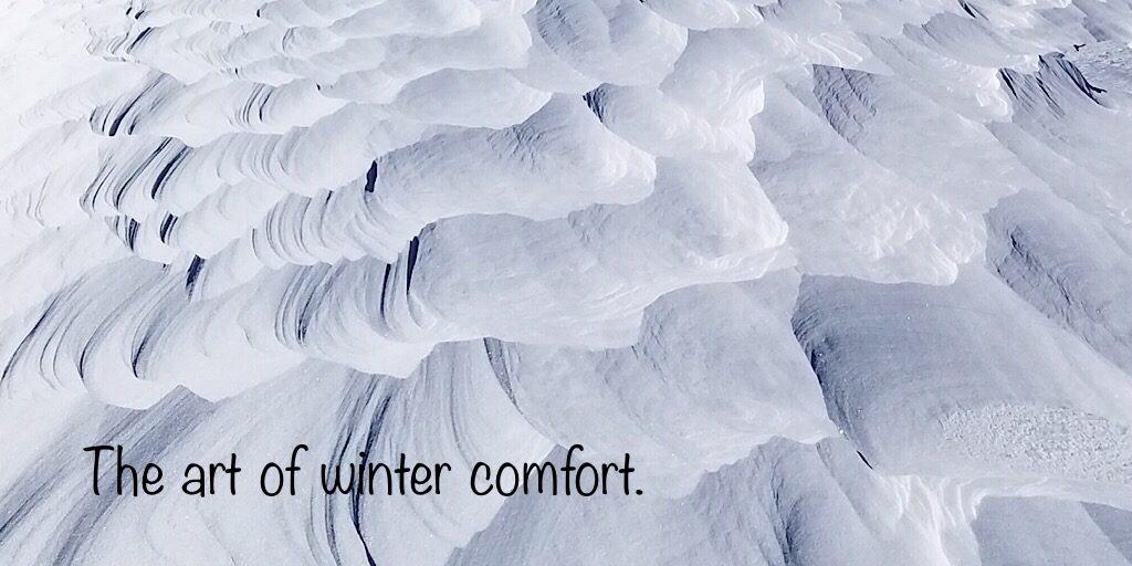 The Art of Comfort.