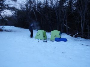 Camp craft, winter