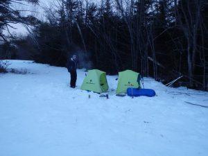 Camp craft, winter