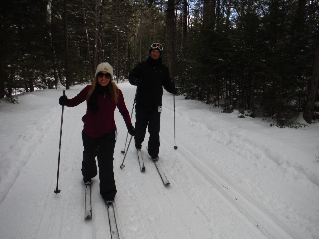On day two Nordic skiing was on the menu. Great times!