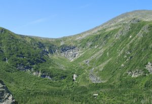Tuckerman Ravine in summer