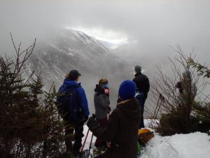 Pleasing snowshoe destination