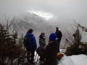 Pleasing snowshoe destination